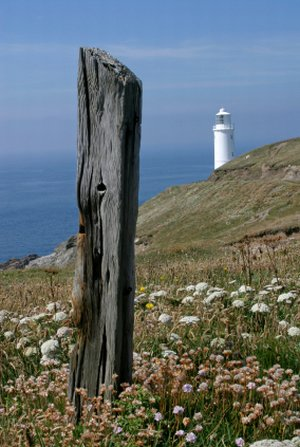 trevose head hiking in britain along the Cornish Coast Path to St Ives
