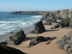 Bedruthan Steps UK Walking Break in Cornwall South West England Trails