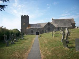 Crantock Church SW Coast Path Walking Holidays UK Trekking Trail
