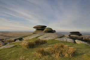 Rough Tor Cornwall South West England Walking Hiking and Trekking