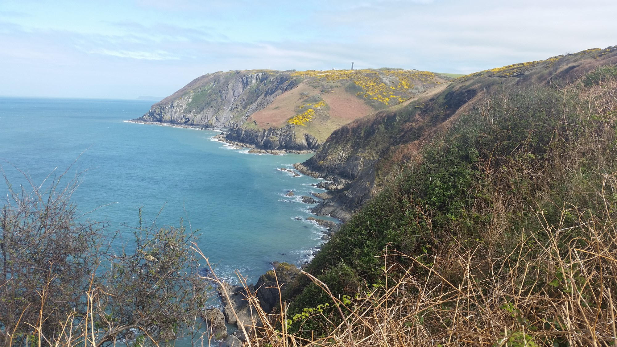 Looking back to Aberporth