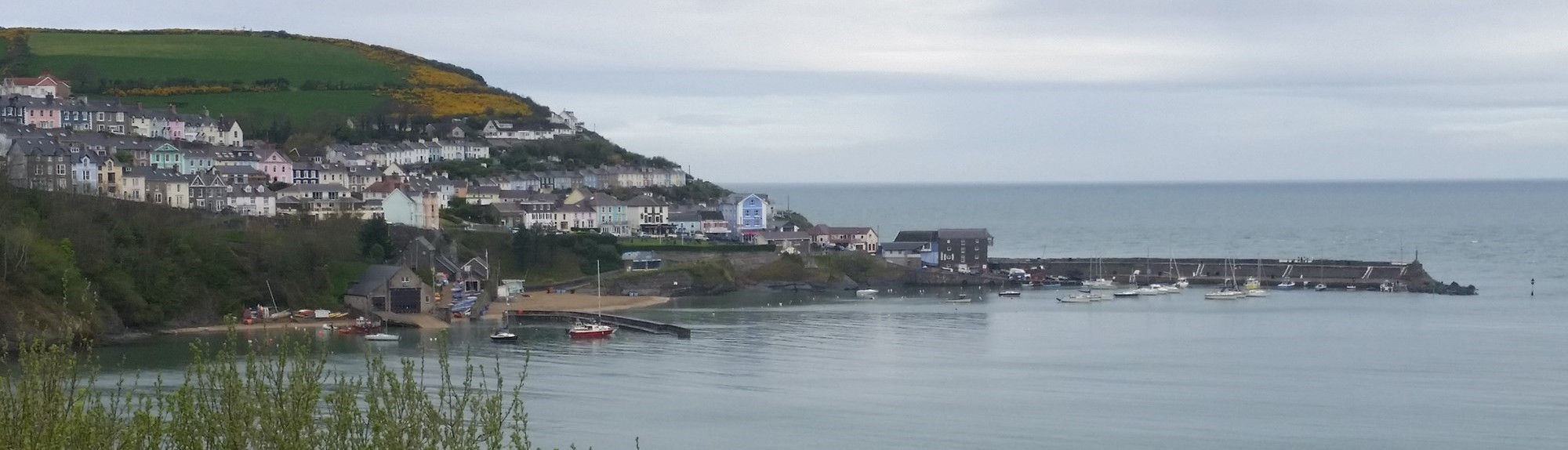 Approaching New Quay