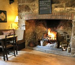 The Globe Inn Chagford interior
