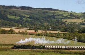 West Somerset steam railway attraction