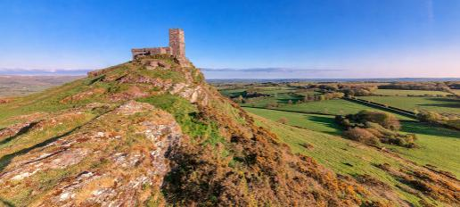Brentor Chruch South West England Walking Holidays