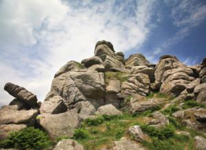Dartmoor Way High Tors route including Haytor, Hounds Tor, Bowermans Nose