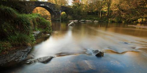 Hexworthy Bridge South West England Dartmoor National Park UK