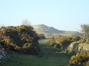 Sourton Tors on The West Devon Way, Two Castles Trail and Dartmoor Way walks