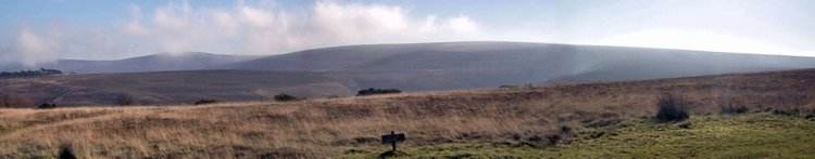 Exmoor National Park Somerset UK crossed on The Tarka Trail Walking Holiday
