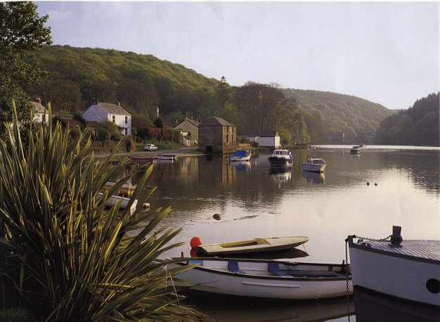 Lerryn village in Cornwall