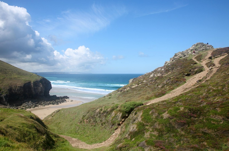 Strenuous Grade Coast Path Cornwall