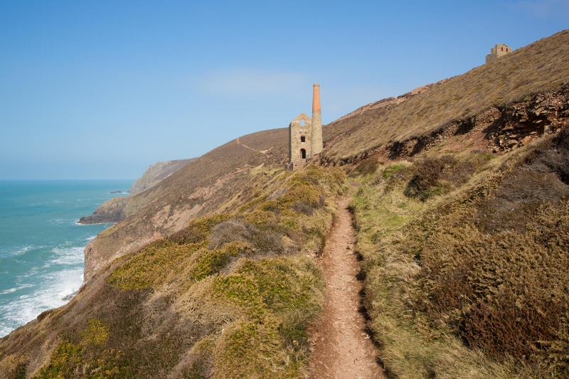 Moderate Grade Coast Path Cornwall