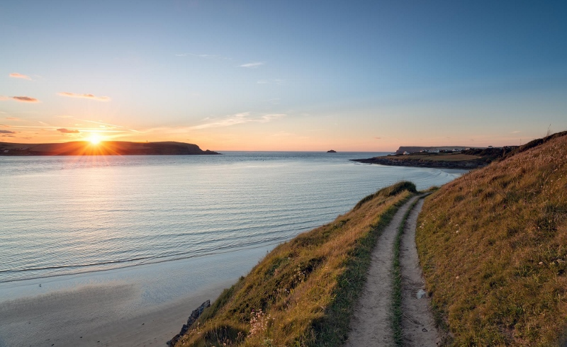 Easy Grade Path near Polzeath