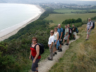 South West Coast Path Group Walking Holidays 40th Birthday SWCP