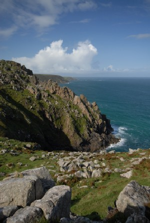 walking the south west coast path west cornwall walking lands end route zennor