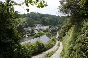 helford passage, south cornwall coast, walkers information in cornwall, walking accommodation