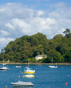 Helford passage walking in cornwall, uk walking holidays, walking breaks england