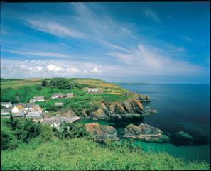Cadgwith Village on the LIzard Cornwall UK Trekking Routes and Walks