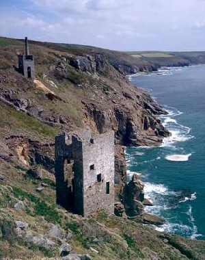 Wheal Prosper Mine, UK Walking Holiday in Cornwall Copywrite: South West Coast Path Association -