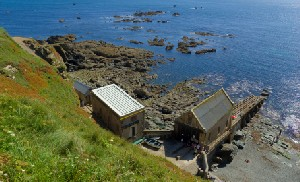 Lizard Lifeboat House Cornwall Coast Path UK National Trail Walking and Trekking Holidays