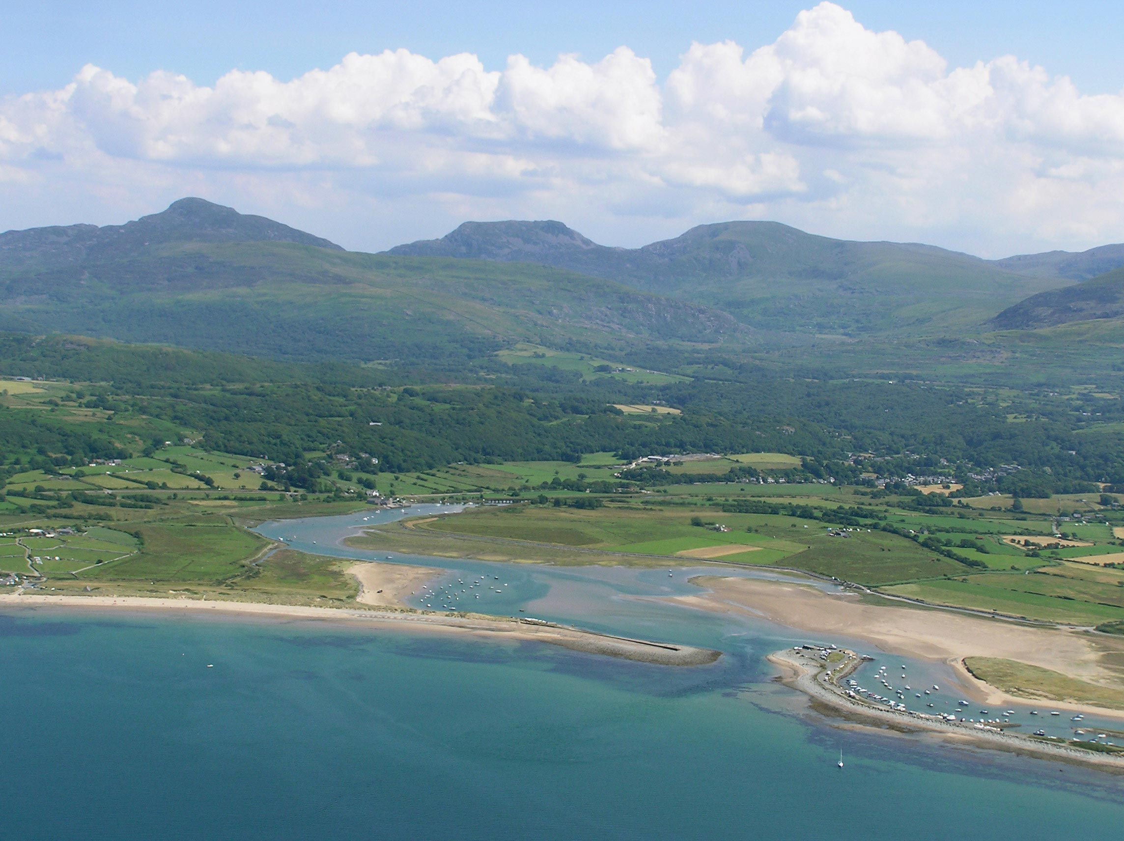 River Artro Estuary near Llanbedr