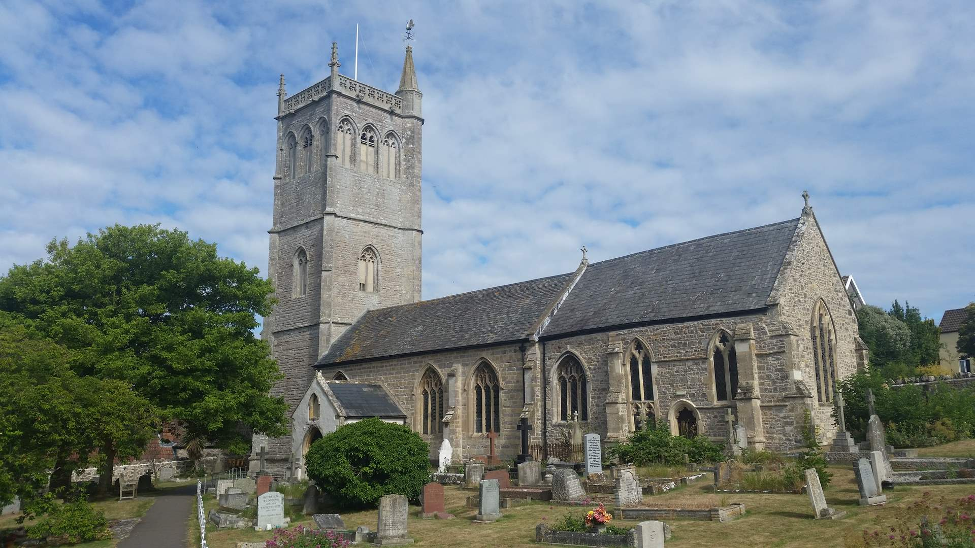 The Church of St Peter and Paul Bleadon