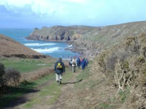 Self Guided Group Walking Lands End Trail South West Coast Path Cornwall