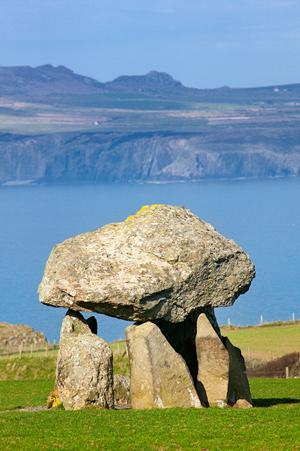 Cromlech, Abercastle, Wales walking holidays. The Pembrokeshire Coast National Park.