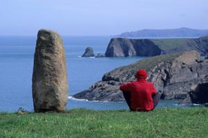 Trefin on the Pembrokeshire coast path