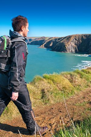 Pembrokeshire National Park Walking Welsh Coast Path