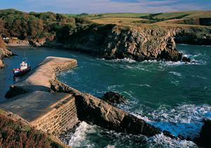 Stackpole Quay, wales. Walking holidays in Wales.