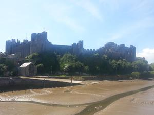 Pembroke Castle, Pembrokeshire coast path, walks in Wales.