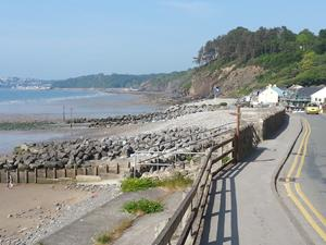 Amroth, Pembrokeshire coast. Welsh coastal path.