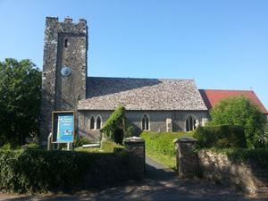 Angle Church, Wales. Holidays and short breaks in Wales.