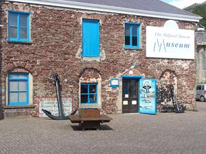 Milford Haven Museum, Wales. Wales coastal path walks.