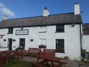 Point House Inn, Angle, Pembrokeshire. Wales Coastal Path holidays.