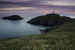 Strumble Head, Pembrokeshire Coast Path, walks in Wales.
