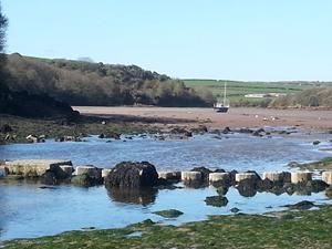 Sandy Haven Crossing, Pembrokshire walking holidays.