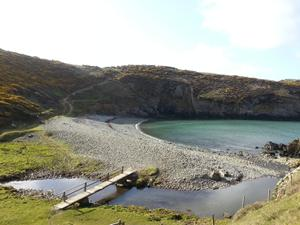 Solva Beach in Wales. Visit the Pembrokeshire Coast  National Park