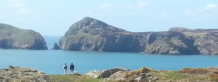 Ramsey Island on the Pembrokeshire Coast Path