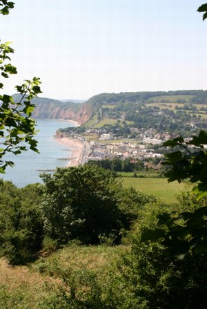 Sidmouth Jurassic Coast Walking Holidays UK Trekking Routes South West Coast Path