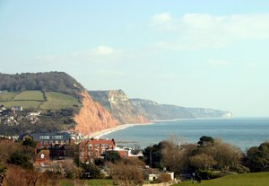 Sidmouth East Devon Coastal Path UK Walking Holidays Jurassic Coastline Hiking England