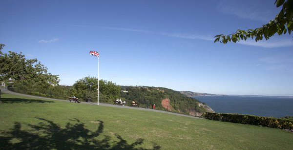 Babbacombe Downs Devon Coastal Path UK Trekking and Hiking Route