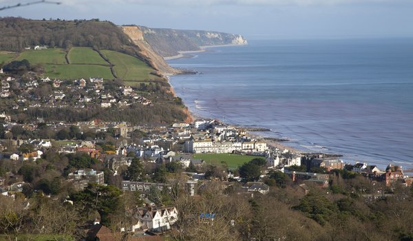 Sidmouth Jurassic Coastline in Devon SW Coast Path Walking Holidays