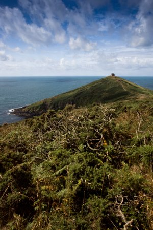 Rame Head Cornwall near Plymouth South West Coast Path Self Guided Walking Holidays UK