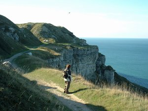 Walking in Dorset - Portland Cliffs
