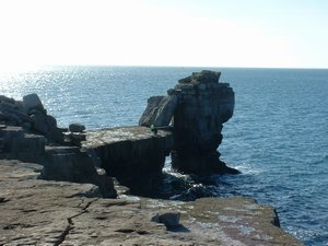 Coast Path Walking Dorset - Pulpit Rock Portland