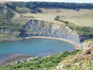 Dorset Coast Path Walking - Chapmans Pool
