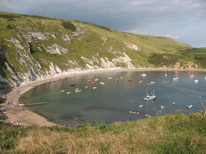 Lulworth Cove Dorset Coast Path Walking Holiday UK Activity Tour