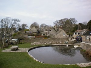Worth Matravers near Swanage on the Dorset Coast Path Walking Holiday UK